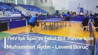 Muhammet AYDIN 3 (FMV Işık Spor) - Levent BORUÇ 1 (Tokat Bld. Plevne Spor)