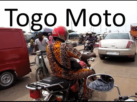 Being Brave For Lome Togo Motorcycle Taxi Ride