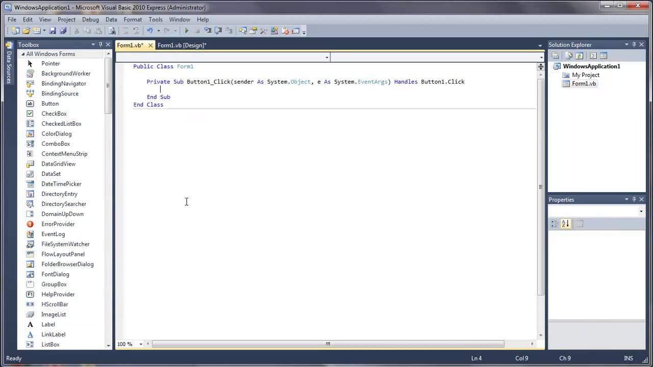 Learn Visual Basic - #38 - Auto-Typer Using Send Keys
