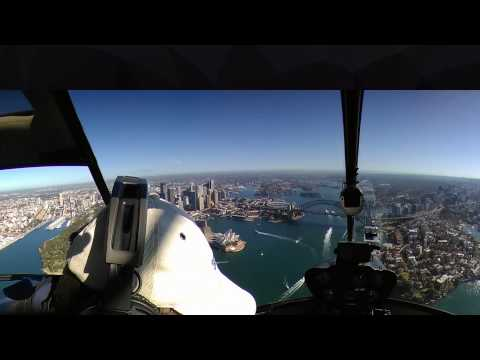 360 degree..Come Fly with me...over the Sydney Harbour Bridge and Harbour