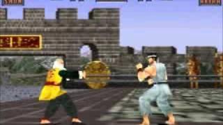 Virtua Fighter 2 - All Akira's Moves