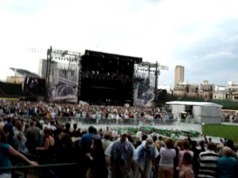 Elton John/Billy Joel Opening At Wrigley Field (Your Song Live) First Night