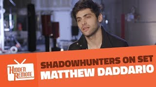 Shadowhunters On Set: Matthew Daddario Teases Season 2B