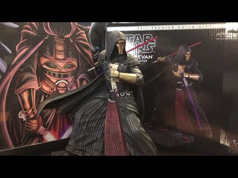 Star Wars Darth Revan 1/8 Scale Statue By Gentle Giant Unboxing (2017 Premier Club Gift)