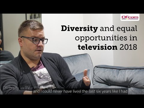 Diversity in the television industry 2018