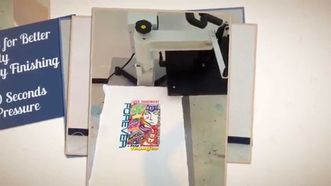 02391b664 T-Shirt Transfer in 60 Seconds with OKI C831-TS and Forever Laser  Transparent - YouTube