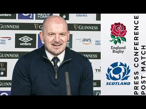 Post Match | Townsend and Hogg on Scotland's Historic Twickenham Win! | 2021 Guinness Six Nations