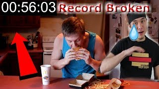 I Beat Matt Stonie's Record! (The Grand Mac Meal Challenge)