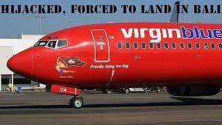 Virgin passenger plane hijacked on way from Brisbane to Bali