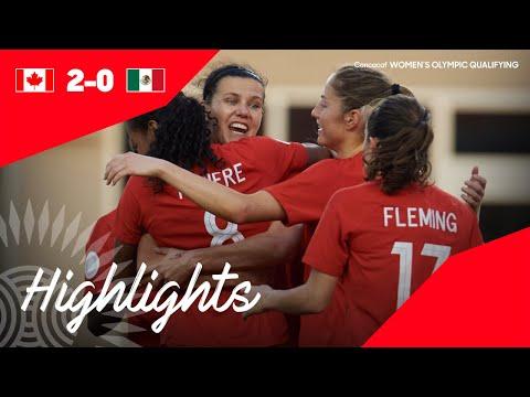 CWOQ2020: Canada Vs Mexico  Highlights
