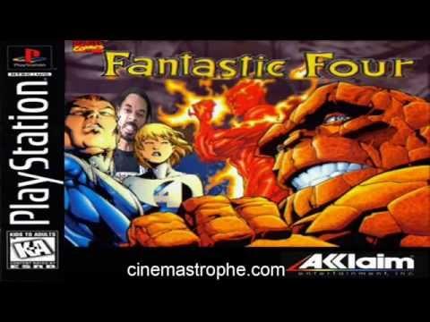 Fantastic Four PS1 game review part 1/2