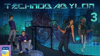 Technobabylon: iOS iPad Gameplay Walkthrough Part 3 (by Wadjet Eye Games)