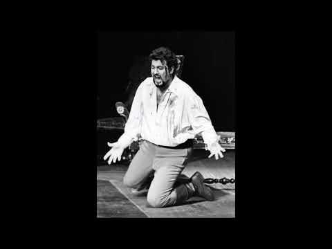 Placido Domingo sings Tosca live and rare 1971!