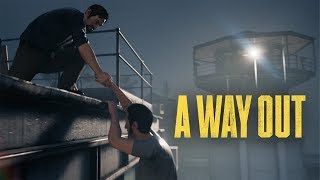 BEST Co-Op Game?  - A Way Out Review