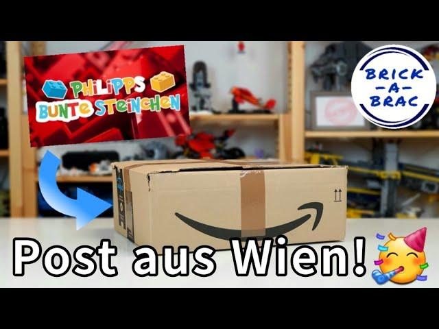 LEGO®-Paket von Philipps Bunte Steinchen aus Wien! #shorts