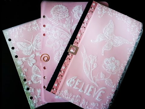How To: Beautiful 3D Pergamano Pockets for Planners & Bullet Journals
