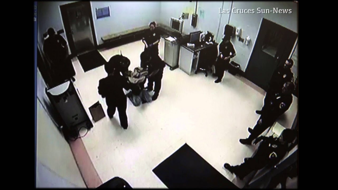 Doña Ana County Detention Center officer slams man