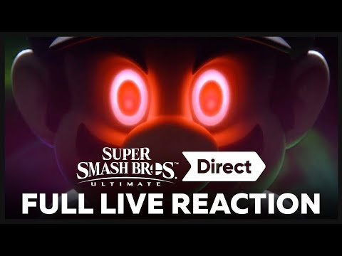 Omni's FULL LIVE REACTION Super Smash Bros. Ultimate Direct 11.1.18