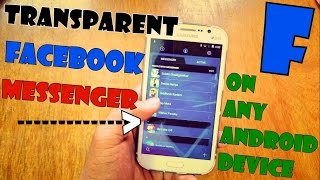 Gambar cover Transparent Facebook Messenger App APK Download !