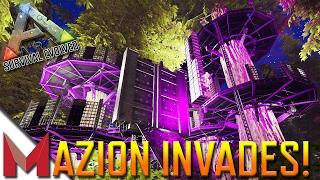 MAZION INVADES PVE-OfficialServer39! -=- ARK: SURVIVAL EVOLVED GAMEPLAY -=- Ep 14