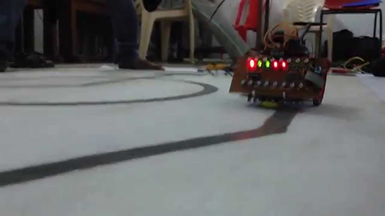 Line Follow With Buzzer Youtube Simple Following Robot Without Microcontroller Make Robots In Vssut Robotics