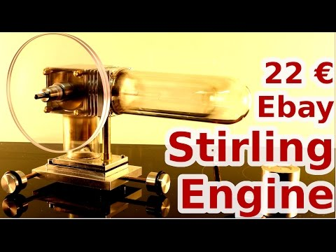Clunkers for Cash - 22€ Ebay Stirling engine