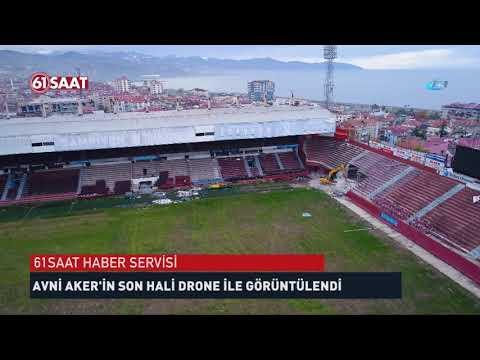 Avni Aker'in son hali drone ile görüntülendi