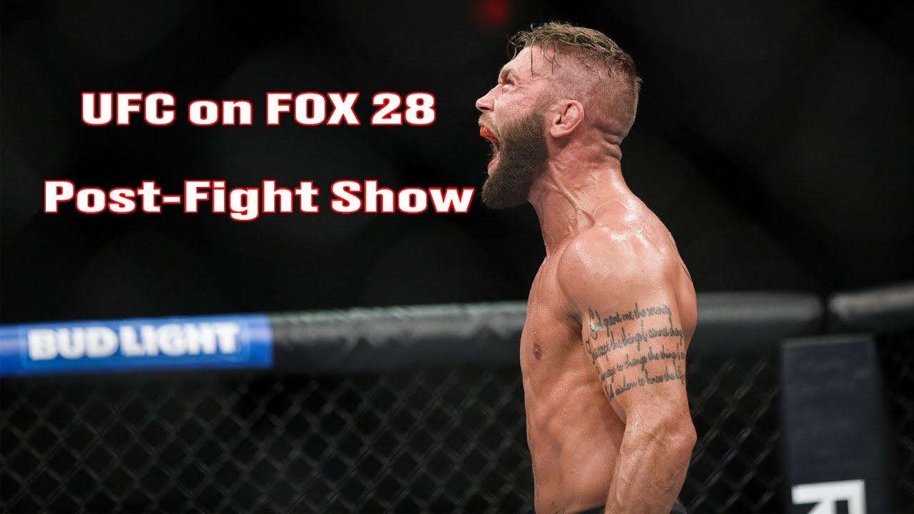UFC on FOX 28 Post-Fight Show