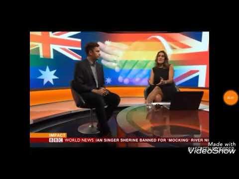 BBC World News Australian Journalist Speaking To BBC About Same Sex Marriage.
