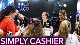 I worked at my Holo Taco booth | VidCon 2019