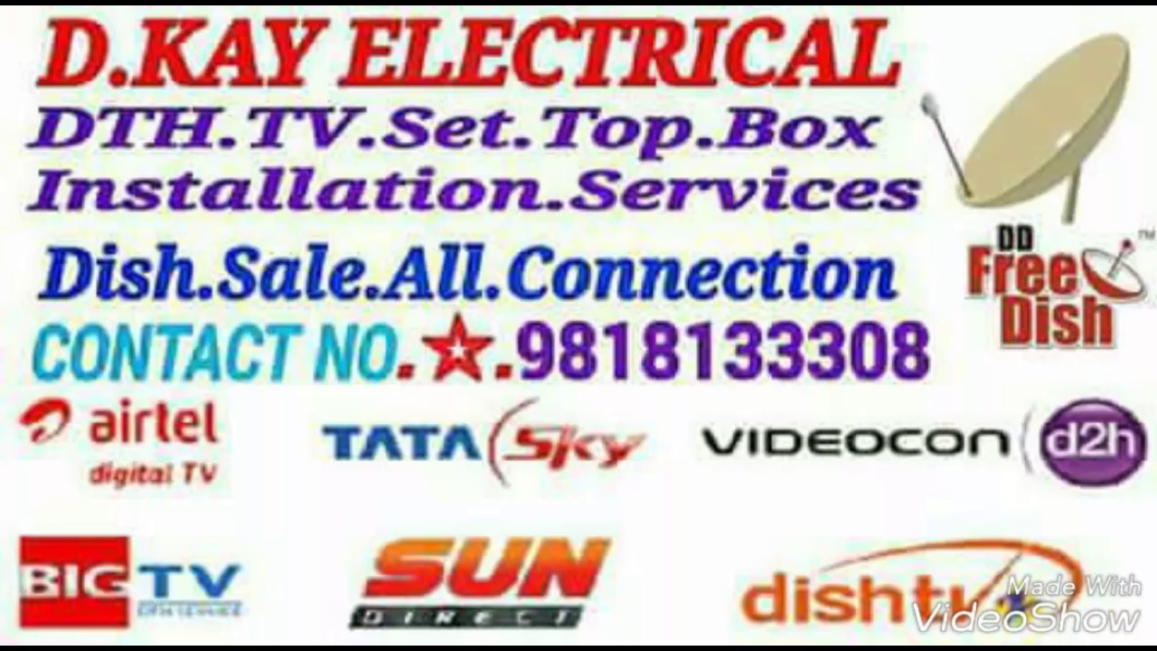 Yahsat Free Dish ku band 100 Cm Dish Antenna by DTH Installation Services