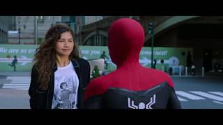 Питер катает мулаточку на своей паутине \ Человек-паук: Вдали от дома Spider-Man: Far From Home
