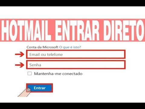 Hotmail login entrar direto na caixa de entrada youtube hotmail login entrar direto na caixa de entrada stopboris Choice Image
