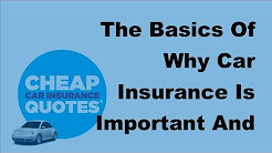 The Basics Of Why Car Insurance Is Important And Why It Matters -  2017 Compare Car Insurance