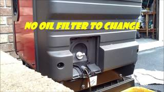 HOW TO: HONDA GENERATOR EU 3000is OIL CHANGE