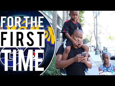 Parents Play Pokémon Go &39;For the First Time&39;
