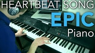 """Heartbeat Song"" on Piano - Incredible Instrumental Piano Cover"