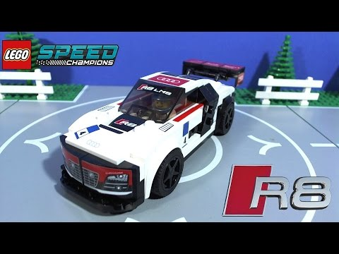 lego speed champions audi r8 lms ultra youtube. Black Bedroom Furniture Sets. Home Design Ideas