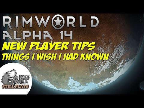 Rimworld Alpha 14 New Player Tips Tutorial | Manual Priorities, Crop Choices, Mood, Beauty, Drafting