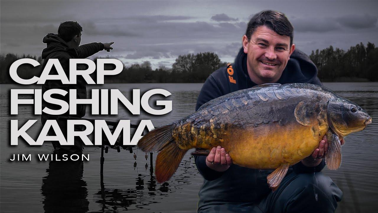 CARP FISHING KARMA | 30 Acre Syndicate Lake | Jim Wilson