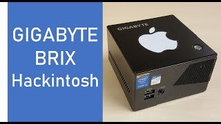 Installing macOS Sierra on a Gigabyte Brix Pro (GB-BXi7-5775, Hackintosh)