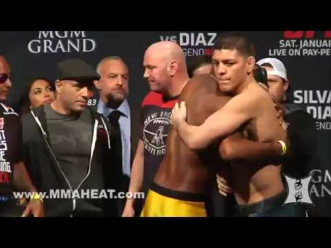 UFC 183: Silva vs Diaz Weigh-ins and Staredowns (LIVE 4pm PT / Unedited)