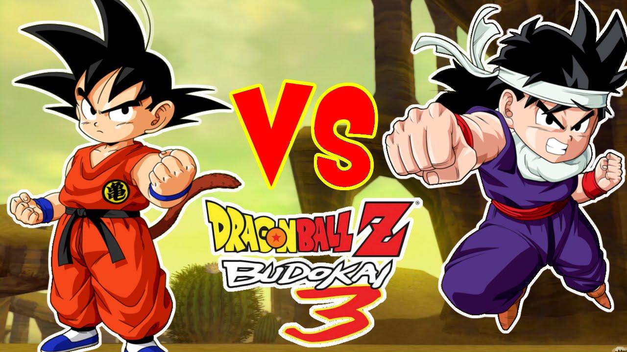 Dragon Ball Z Budokai 3 Kid Goku VS Kid Gohan Padre E