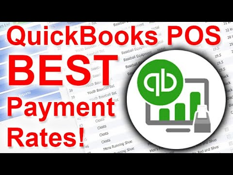 Best QuickBooks POS Credit Card Processing Rates! Better than Intuit Merchant Services