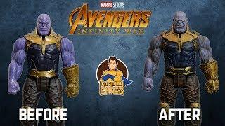 Titan Hero Series Thanos Figure Makeover- Chris' Custom Collectables!
