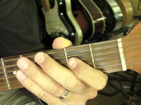 Blues Shuffle - A5 Chord