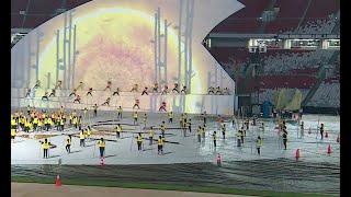 Persiapan Upacara Pembukaan Asian Para Games 2018