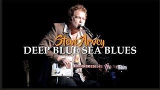 Steve Arvey  Deep Blue Sea Blues Played On A Cigar Box Guitar March 2018