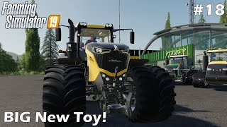 BIG New Toy - Lakeland Vale by Stevie - Farming Simulator 19 - Let's Play - #18