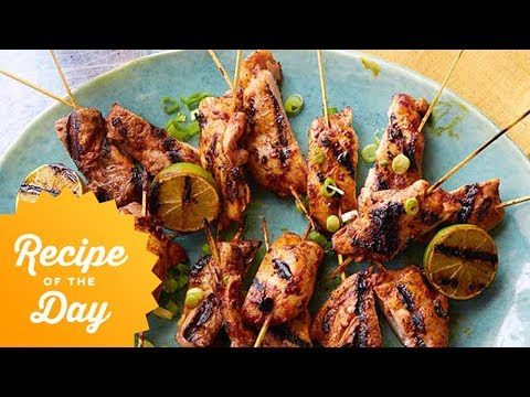 Recipe Of The Day: Bobby's Best Chicken Skewers | Food Network